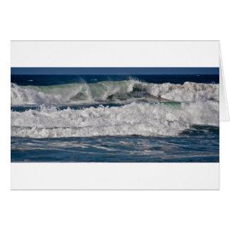Autumn Surf at Horsfall Beach Card