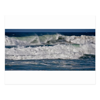 Autumn Surf at Horsfall Beach Postcard