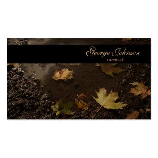 Autumn Swamp Business Card