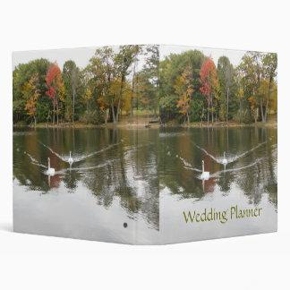 Autumn Swans Wedding Planner Binder