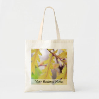 Autumn Tansy Leaves Tote Bag