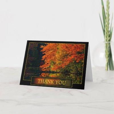 autumn thank you
