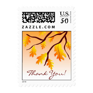 Autumn Thank You! - Postage