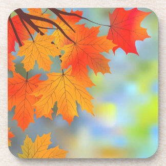 Autumn Theme Coasters (set of 4)