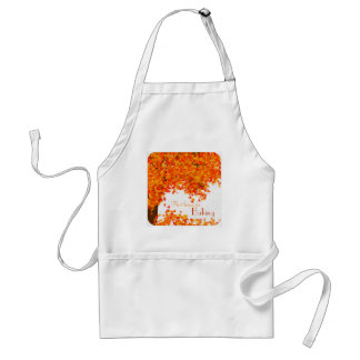 Autumn Themed Kitchen Apron - Season for Baking