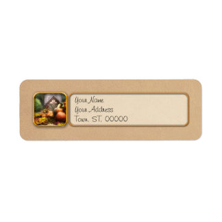Autumn - This years harvest was awesome! Return Address Label