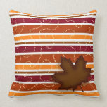 Autumn Throw Pillow - Fall Seasonal Home Decor