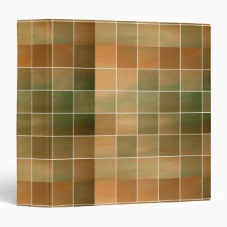 Autumn tiles 3 ring binder
