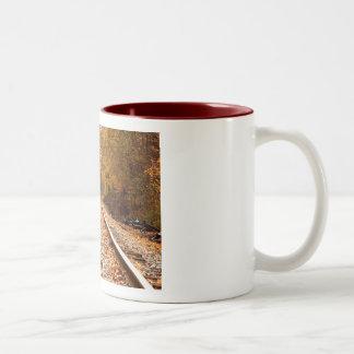Autumn Tracks mug