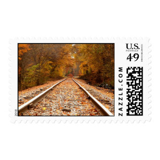 Autumn Tracks stamps