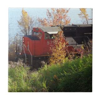 Autumn Train Tile