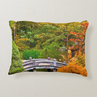 Autumn - Tranquility yields transcendence Accent Pillow
