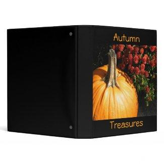 Autumn Treasures avery binder