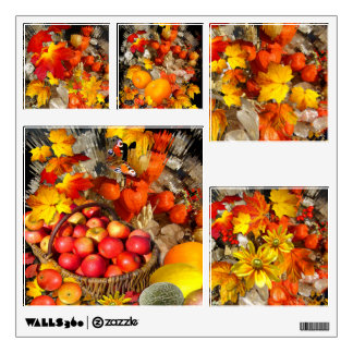 Autumn Treasures ~ Wall Decal (Square)