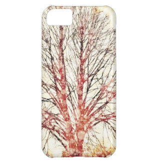 Autumn Tree Cover For iPhone 5C