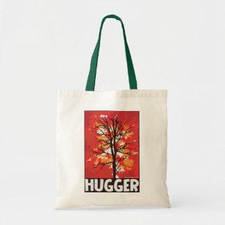 Autumn, Tree Hugger Tote Bags