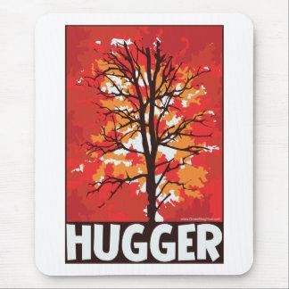 Autumn, Tree Hugger Mouse Pad