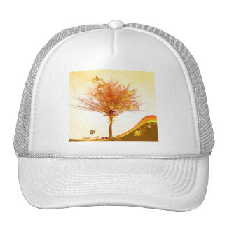 Autumn Tree In Fall Colors Trucker Hat