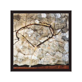 Autumn Tree in Movement by Egon Schiele Canvas Print