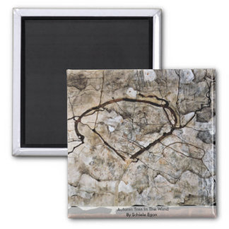 Autumn Tree In The Wind By Schiele Egon Refrigerator Magnets