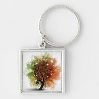 Autumn Tree Keychain