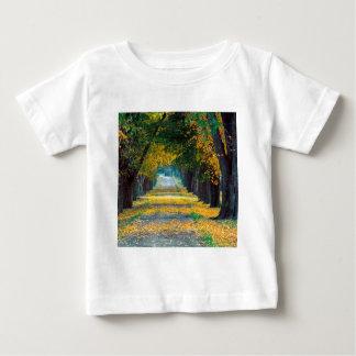 Autumn Tree Lined Roadway Louisville Kentucky Baby T-Shirt