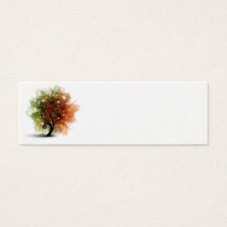 Autumn Tree Mini Business Card