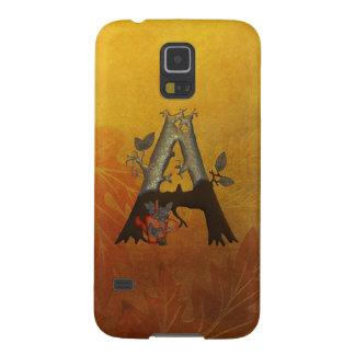 Autumn Tree Monogram A Galaxy S5 Case