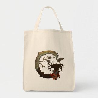 Autumn Tree Monogram G Tote Bag