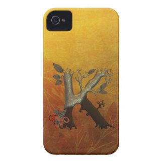 Autumn Tree Monogram K Case-Mate iPhone 4 Case