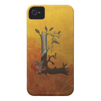 Autumn Tree Monogram L iPhone 4 Cover