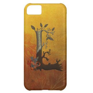 Autumn Tree Monogram L iPhone 5C Cases
