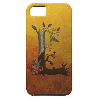 Autumn Tree Monogram L iPhone SE/5/5s Case