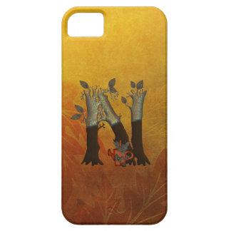 Autumn Tree Monogram N iPhone SE/5/5s Case