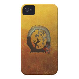 Autumn Tree Monogram O Case-Mate iPhone 4 Case