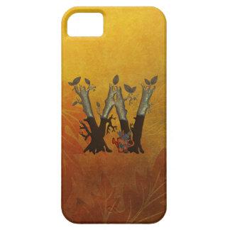 Autumn Tree Monogram W iPhone SE/5/5s Case