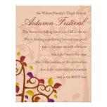 Autumn Tree of Delight Custom Announcement