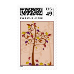 Autumn Tree of Delight Postage Stamp