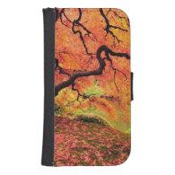 Autumn Tree Phone Wallet Cases