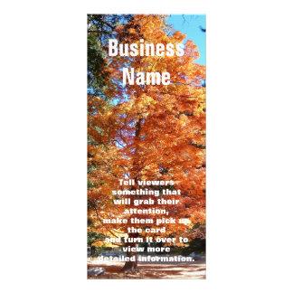 Autumn Tree Custom Rack Cards