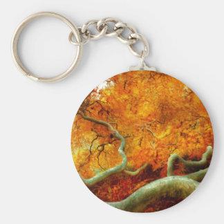 Autumn - Tree - Serpentine Keychain