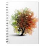 Autumn Tree Spiral Notebooks