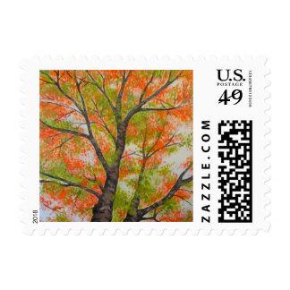 Autumn Tree Stamp