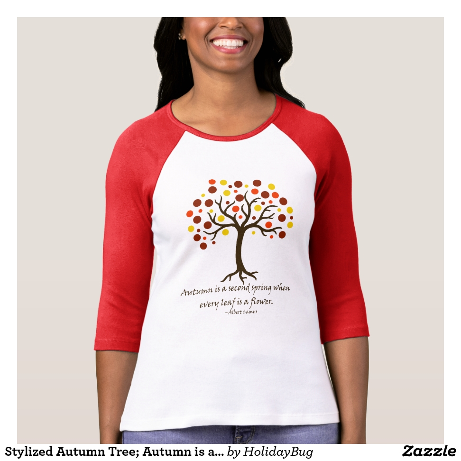 Autumn Tree T-Shirt - Best Selling Long-Sleeve Street Fashion Shirt Designs