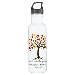 Autumn Tree Water Bottle