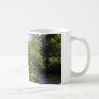 Autumn Tree Water Scene Coffee Mug