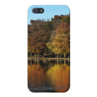 Autumn Trees and Lake Cases For iPhone 5