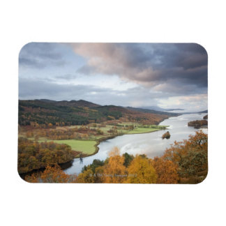 Autumn trees and Loch Faskally, Pitlochry Magnet