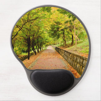 Autumn Trees Gel Mouse Pad