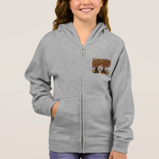 Autumn Trees Girls Hoodie